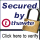 Site Verification by Thawte