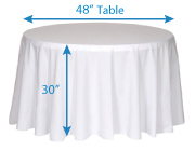 Cool Determining Tablecloth Size Wholesale Event Solutions Home Interior And Landscaping Palasignezvosmurscom