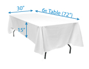 Determining Tablecloth Size - Wholesale Event Solutions
